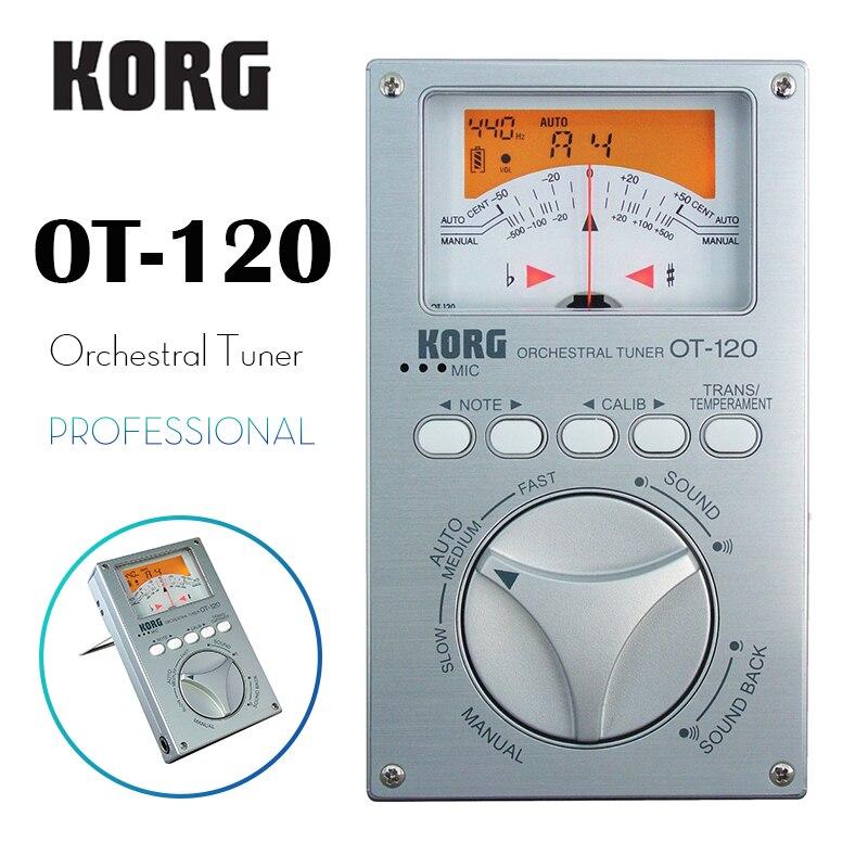 KORG OT-120 OT120 Professional Orchestral Tuner Chromatic Tuner Bass/Saxophone/ Violin/ Flute Tuner Universal TunerKORG OT-120 OT120 Professional Orchestral Tuner Chromatic Tuner Bass/Saxophone/ Violin/ Flute Tuner Universal Tuner