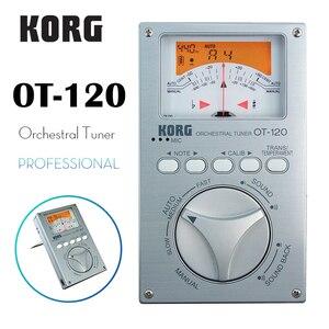 KORG OT-120 OT120 accordeur Orchestral professionnel accordeur chromatique accordeur basse/Saxophone/violon/flûte accordeur universel(China)