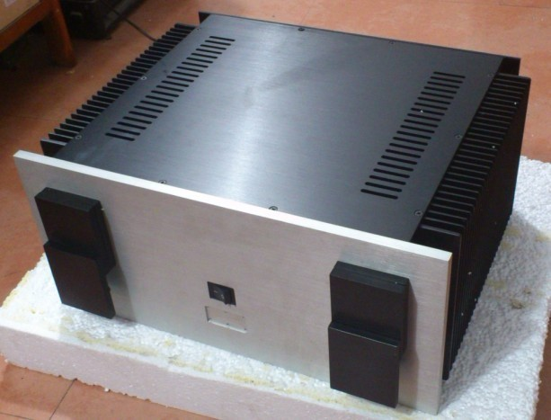 QUEENWAY A50 CNC amplifier Chassis (for KRELL50W CPI circuit ) aluminum Power/Case BOX 480mm*224mm*390mm 480*224*390mm