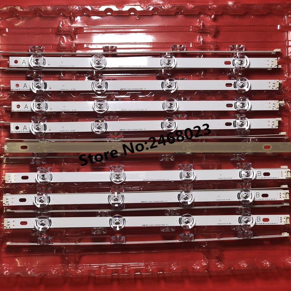 100 NEW 16PCS 8 A 8 B LED strips for LG INNOTEK DRT 3 0 42