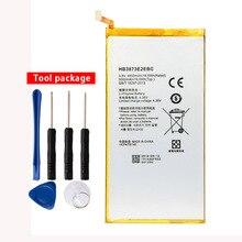 Original HB3873E2EBC Li-Polymer battery For Huawei mediapad X2 7D-503L 7D-501U Honor X1 5000mAh original touch screen digitizer for huawei mediapad x1 7 0 honor x1 7d 501u touch panel glass white