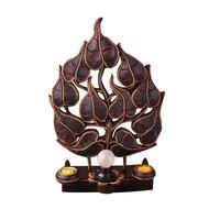 Таиланд Юго Восточной Азии дома твердая древесина Бодхи Настольные лампы спальня кровать личности Творческие украшения дома огни lu809201