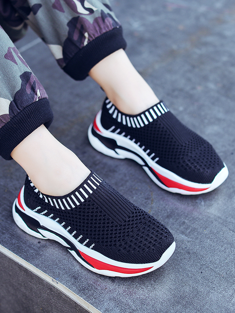 Children's Sports Shoes 2019 Summer New Boys Children's Shoes Hollow Spring Children's Shoes Mesh Breathable Single Net Shoes