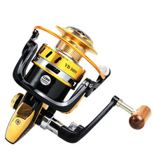 YB 5000Original fishing reel VIRTUS spinning 4+1 bearings 5.0:1/5.1:1 Ratio 2.5KG-7.5KG Power Japan reels with CNC handle
