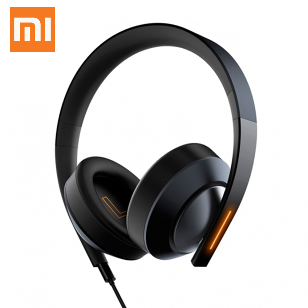 Original Xiaomi Mi Gaming Headset 7.1 Virtual Surround Sound Headphones with LED Light Noise Cancelling Volume Control for PUBG цена