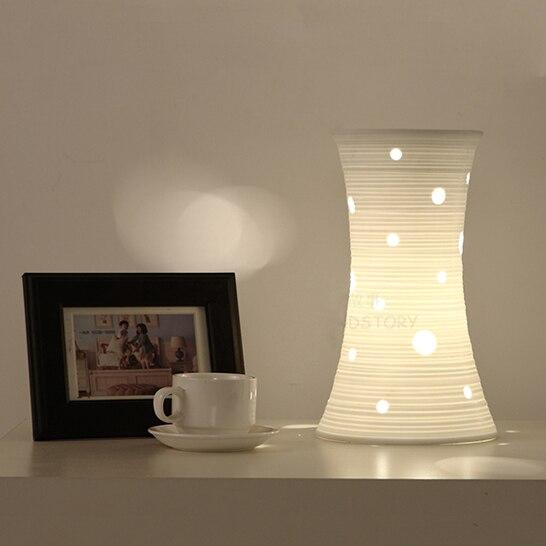 envo gratis dormitorio moderno lmpara de cermica de led e lmpara de mesa lmparas para el