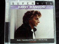 Barry Manilow - Super Hits  USA Original CD SEALED Jewel case damaged