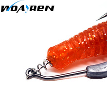 50pcs/lot Spring Lock Pins Stainless Steel Soft Bait Lure Spring Lock Pin Crank Hook Connect Fixed Latch Fishing Tackles Hotsale