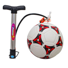 Portable Basketball inflator gas air Soccer ball pump with needle Football Basketball volleyball for all balls