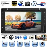 6.5inch Wireless WiFi Bluetooth Android 7.1 Car MP5 USB AUX USB Flash Disk Stereo Music Player FM Radio Autoradio GPS Navigator