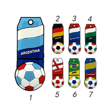 National team Football Soccer usb flash drive  pen drive usb stick