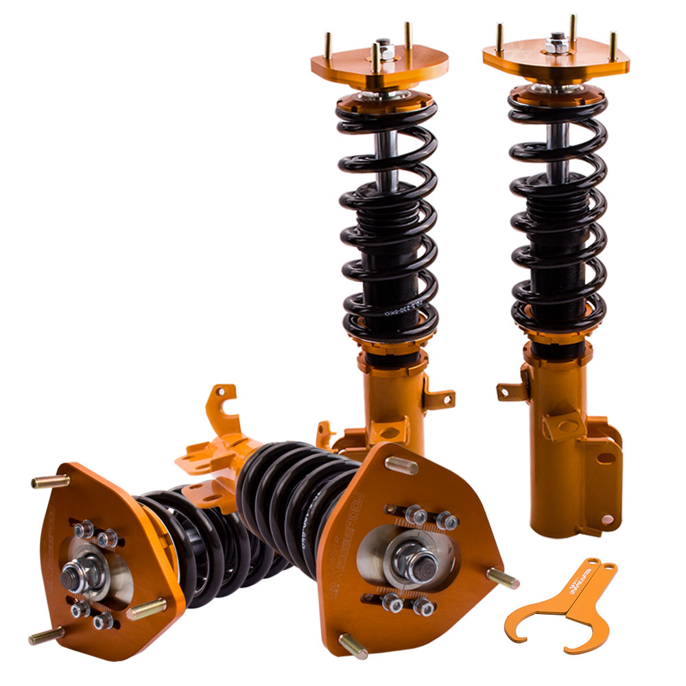 Coilovers Shock Set For <font><b>Toyota</b></font> <font><b>Corolla</b></font> E90 E100 E110 AE92 <font><b>AE101</b></font> AE111 LE 1988-1999 Adj. Height image