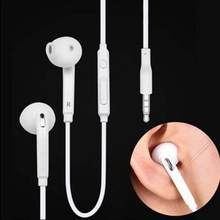 3.5mm In-Ear Earphones Bass Headset Stereo With Mic For Iphone Mp3 Mp4 Samsung Xiaomi Huawei Bluetooth Earphone Earpiece(China)