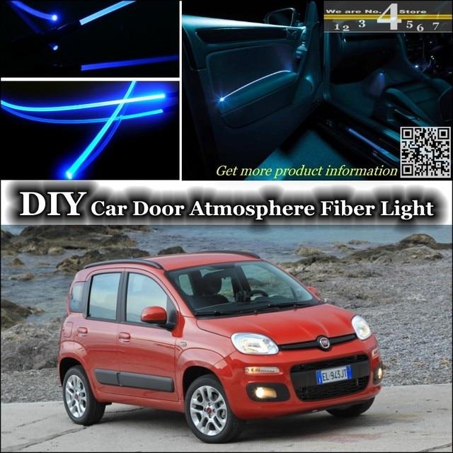 Für Fiat Panda 169 MK2 innen Umgebungslicht Tuning Atmosphäre Fiber ...