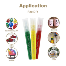 Permanent Water Based Paint Markers dry very quickly Great for DIY Crafts and Most Surfaces sharpie oil based paint markers