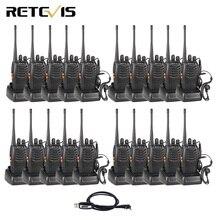 20 штук рация Retevis H777 3 W UHF 400-470 MHz Портативный радиоприемник комплект радиолюбителей КВ трансивер Связь инструмент