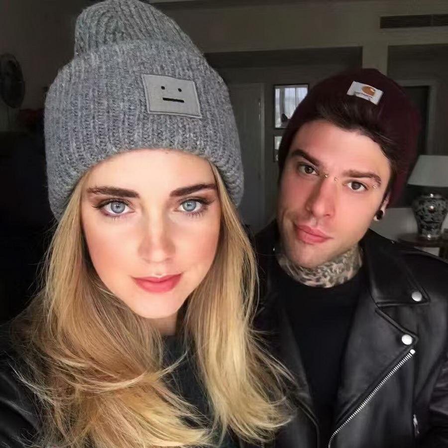 WENDYWU 2017 new luxury brand hat lady neutral cotton wool cashmere Beanies warm hat ski cap