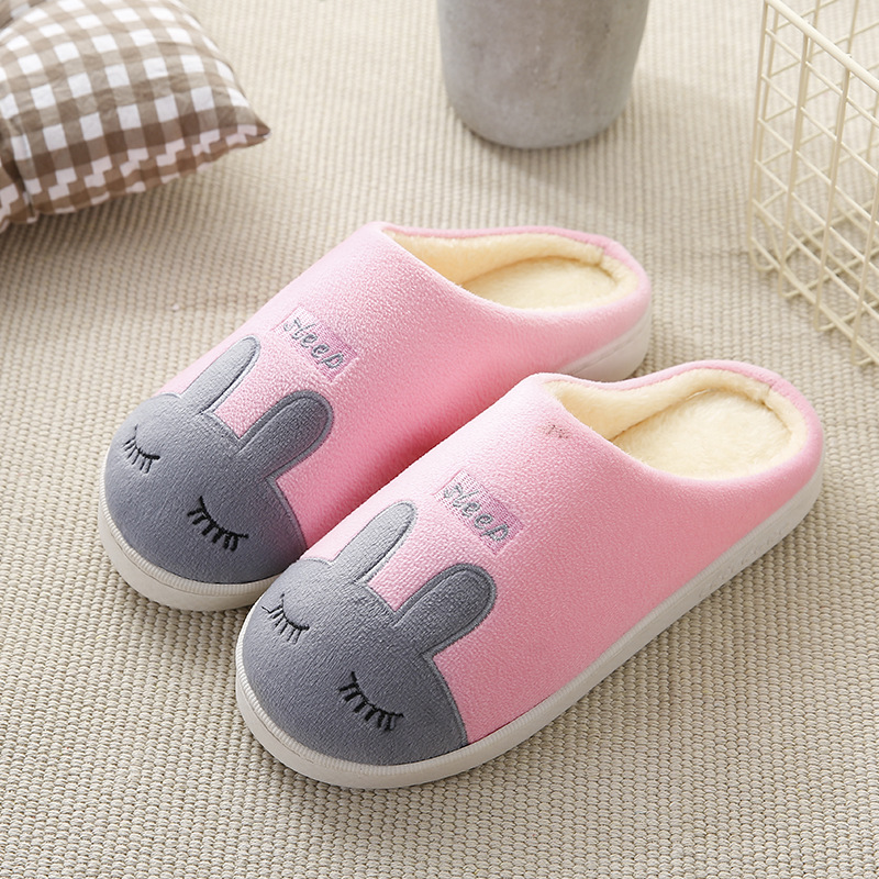 Slippers Home Shoes Women Winter Home Slippers Women Warm Plush Slippers Female Animal Ladies High Quality988 siketu 2017 women home slippers spliced warm pregnant women shoes best gift drop shipping dec27