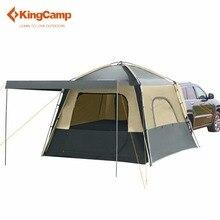 KingCamp с функцией автоматического управления для путешествий Кемпинг Палатки 5-местная палатка Кемпинг двухслойная палатка 4 сезона, используя SUV автомобильная палатка для отдыха на открытом воздухе