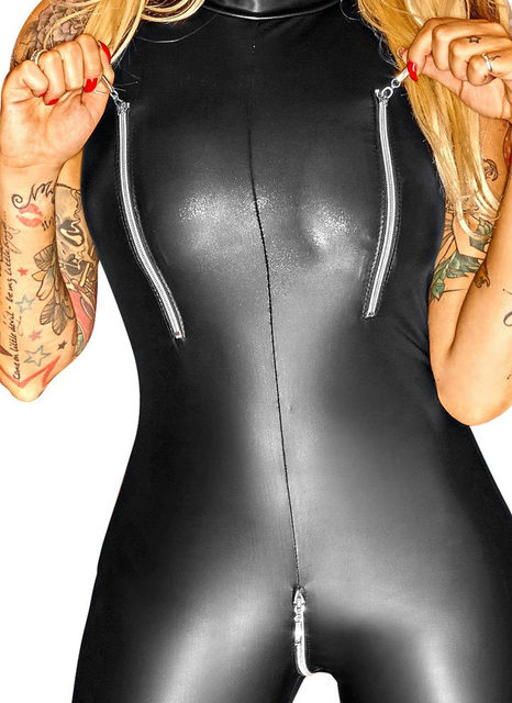 Faux Leather Night Club Clothing 6