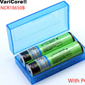 VariCore New Protected 18650 NCR18650B 3400mAh Rechargeable battery 3.7V with PCB For Flashlight batteries