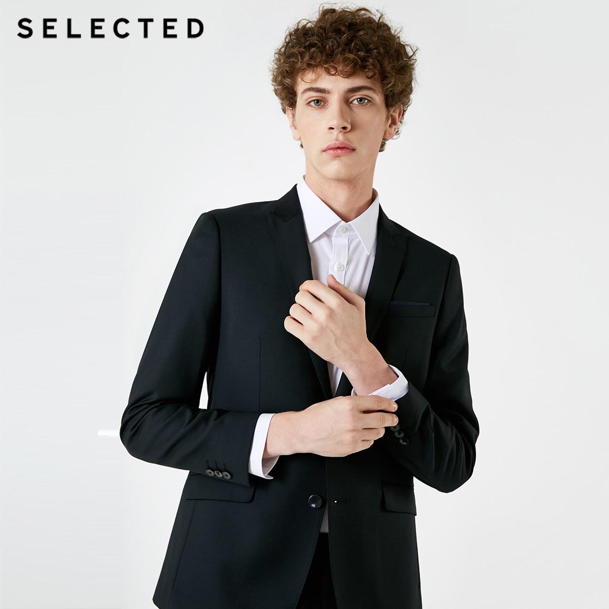 모직 칼라 넥타이 칼라 비즈니스 정장 t를 포함한 남성 겨울 신제품 선택  41845z503-에서정장 재킷부터 남성 의류 의  그룹 1