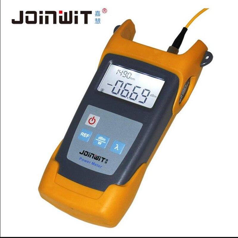 -70 ~ 10dBm JW3211 Handheld Optical Power Meter / Fiber Optic Tester 800~1700nm Wavelength