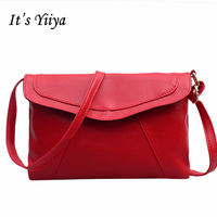 It S YiiYa Sales 7 Colors Women PU HandBag Fashion Lady Style Vintage Envelope Bag Candy