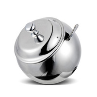 304 Stainless Steel Spice Jar Seasoning Bottle Home Fashion Salt And Pepper Jar Sugar Bowl