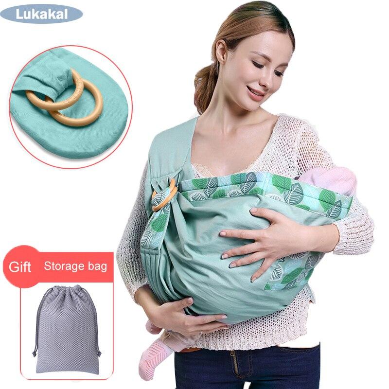 Portador de Bebê para Recém-nascidos Confortável Estilingue Quente Macio Infantil