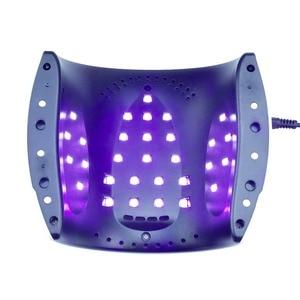 Image 4 - New 48W UV LED  Lamp Rainbow4 Nail Dryer Machine UV Lamp For Curing UV Gel Nail Polish With Motion sensing LCD Display