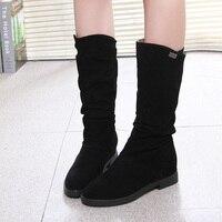 2018 New Women Shoes Autumn Winter Fashion Boots Women Boots Low Heel Boots Women