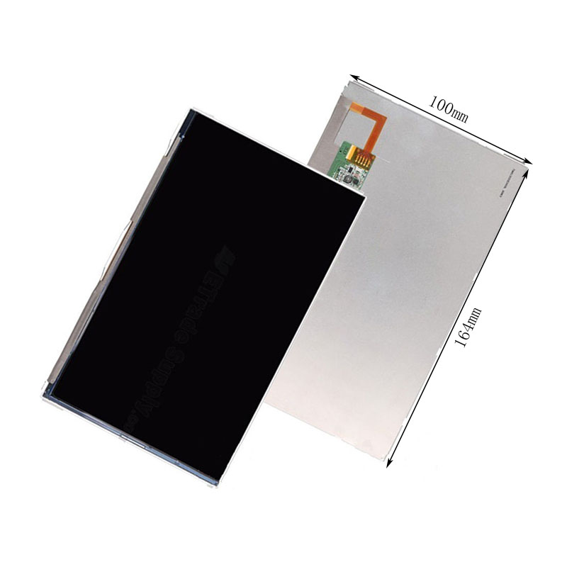 New 7 Inch Replacement LCD Display Screen For DNS AirTab M72 (MD09) tablet PC Free shipping new 7 inch tablet capacitive touch screen replacement for dns airtab m76 digitizer external screen sensor free shipping