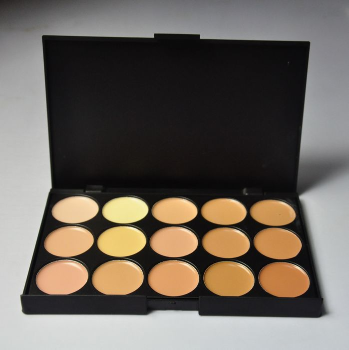 Biutee Professional 15 Color Eye Shadow For Eye Camouflage Makeup Neutral Eyeshadow Palette