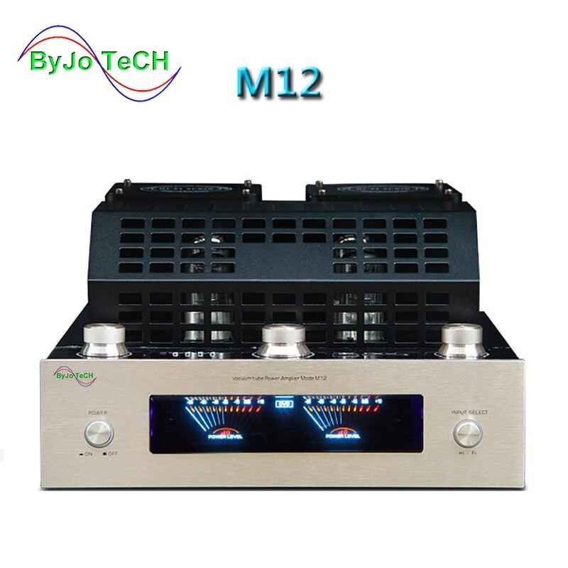 ByJoTeCH M12 HI-FI Bluetooth Tubo A Vuoto Amplificatore di sostegno di potere del USB amplificatore amplificatore per BASSO hifi 2 di uscita di sostegno 220 v o 110 v