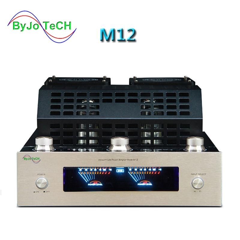 ByJoTeCH M12 HI FI Bluetooth font b Vacuum b font Tube Amplifier support USB power amplifier