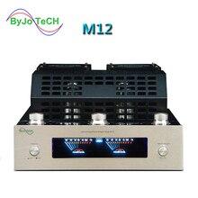 ByJoTeCH M12 Hi-Fi Bluetooth Ламповый Усилитель Поддержка USB усилитель мощности бас стерео выход 2 Поддержка 220 или 110 V
