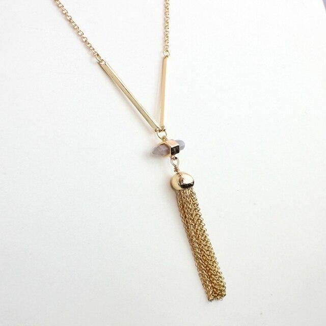 Фото chicvie ожерелье золотого цвета с кристаллами воротник длинные