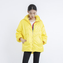 2019 new fashion puffer light duck down jacket women winter coat women High Quality plus size korea clothes short outwear(China)