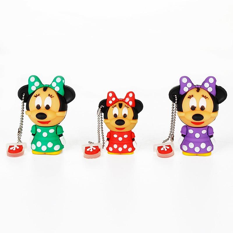 Image 5 - Usb Flash Drive 4GB Mickey&Minnie Pen Drive 8GB 16GB High Quality Flash Disk 32GB 64GB Pendrive 128GB Cute Cartoon Usb Stick 2.0-in USB Flash Drives from Computer & Office