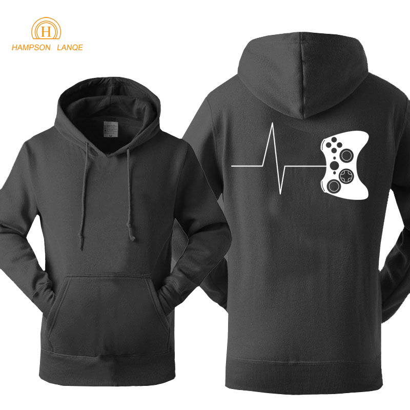 Gamers Hoodies Funny Gaming Video Print Hoodie 2019 Spring Autumn Game Sweatshirts Men Fashion Tracksuit Adult Men's Jackets