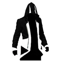 Assassins Creed Cosplay Costume Ezio Altair Connor Desmond Mualim Costume Assurance Men's jacket anime cosplay