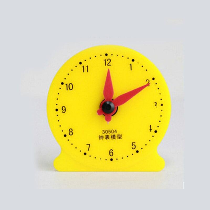 watch model for school student Mathematics Teaching aids Educational Gift Math Toy 85x85x20mm