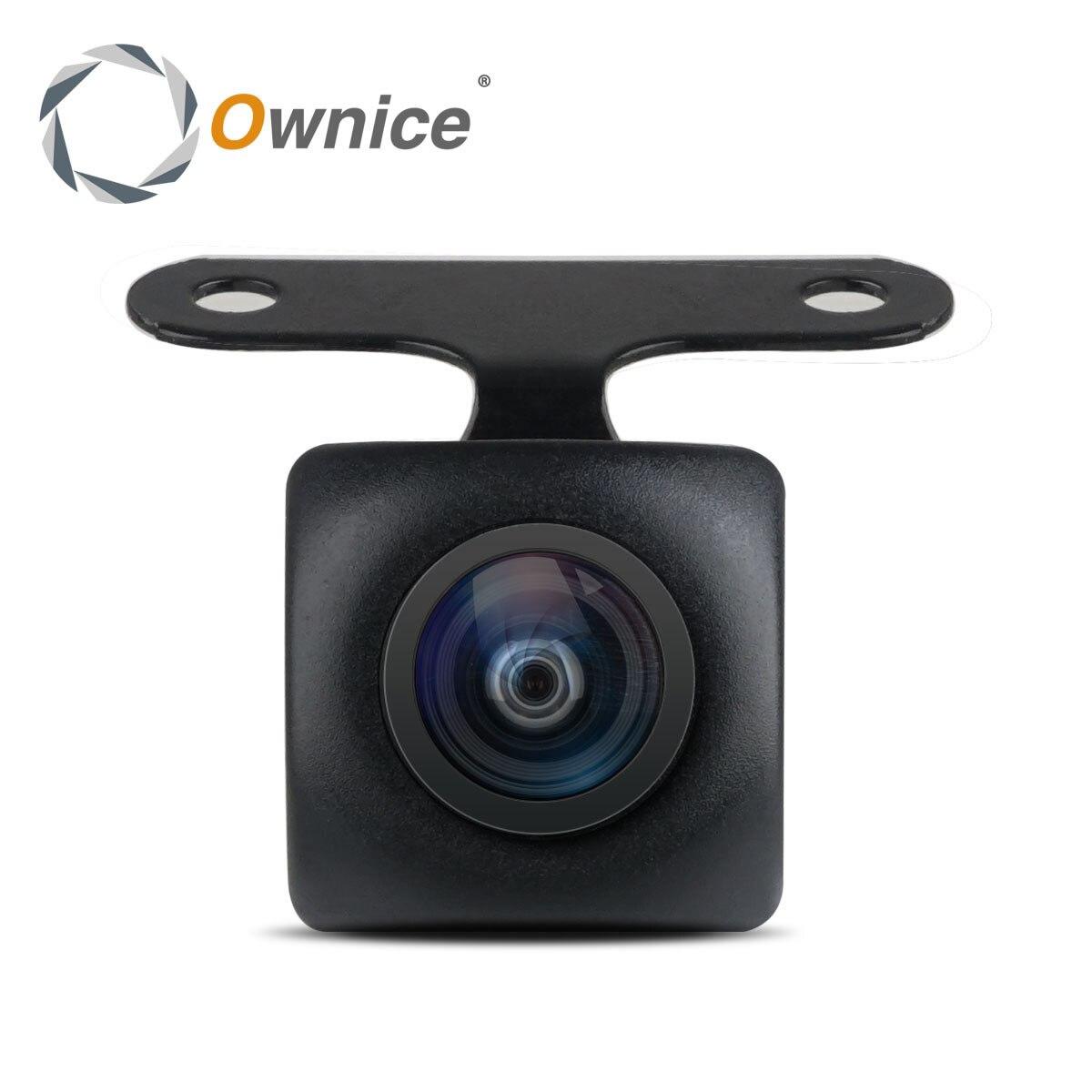 Ownice Universelle Wasserdichte HD Sony/MCCD Fisheye Objektiv Sternenlicht Nachtsicht 170 Grad Auto Rückansicht Parkplatz Kamera für alle auto