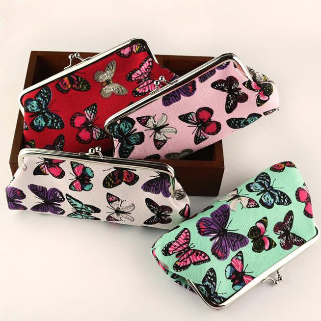 Xiniu Womens Butterfly Small Wallet Card Holder Coin Purse Clutch bag