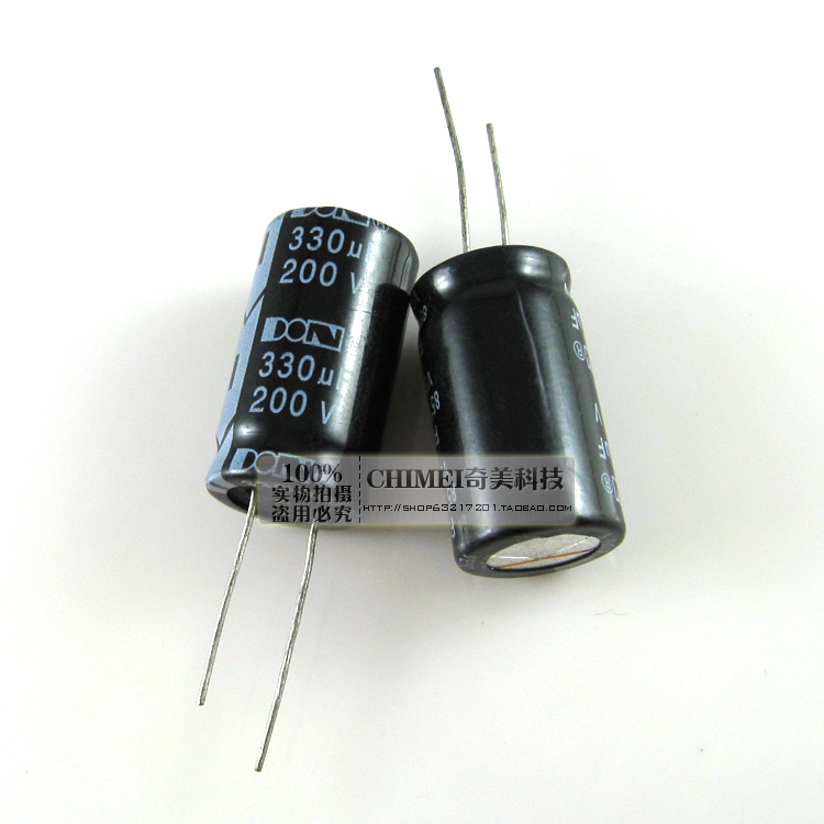 Electrolytic Capacitor 200V 330UF Capacitor