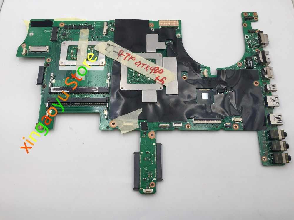 Для ASUS G751JY материнская плата DDR3L SR1PX I7-4710 N16E-GX-A1 GTX980 неинтегрированная G751JY Материнская плата ноутбука 60NB06F0-MB1510
