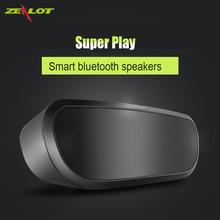 Zealot S9 Super Bass Altavoz Bluetooth Inalámbrico Portátil Estéreo Reproductor de Música DEL TF U Disco Tarjeta Palying