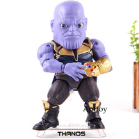 Action Figures Marvel Avengers Infinity War Thanos Statue Beast Kingdom Egg Attack Action EAA 059 PVC Collection Model Toys