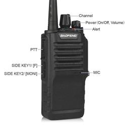 BAOFENG BF-9700 8W IP67 Waterproof Two Way Radio UHF400-520MHz FM Transceiver with 2800mAh battery Ham Radio Walkie talkie